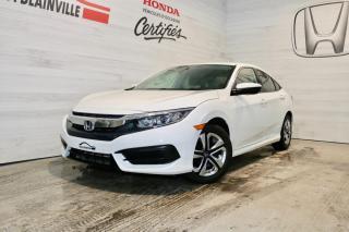 Used 2016 Honda Civic 4 portes, boîte manuelle, LX for sale in Blainville, QC