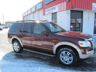 Used 2010 Ford Explorer Eddie Bauer $9,995+HST+LIC FEE / CERTIFIED / CLEAN CARFAX REPORT for sale in North York, ON