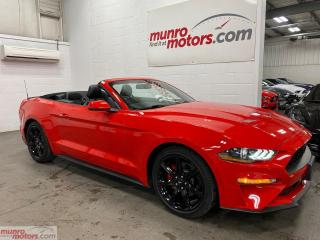 Used 2019 Ford Mustang EcoBoost Premium Convertible BlackPack NAV for sale in St. George Brant, ON