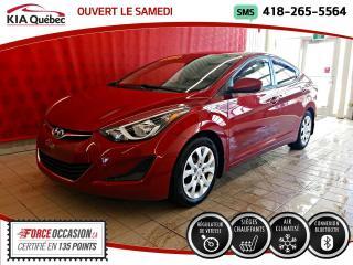 Used 2015 Hyundai Elantra GL* A/C* SIEGES CHAUFFANTS* BLUETOOTH* for sale in Québec, QC