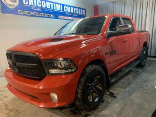 Used 2017 RAM 1500 Ram sport Édition Night cabine d'équipe for sale in Chicoutimi, QC