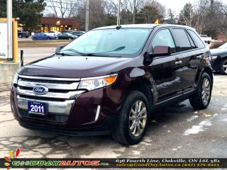 Used 2011 Ford Edge SEL|LOW KM|NO ACCIDENT|PANORAMIC SUNROOF|CERTIFIED for sale in Oakville, ON