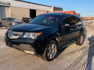 Used 2009 Acura MDX TECH PKG AWD NAVIGATION DUAL TV-DVD REAR CAMERA BLUETOOTH ALLOYS for sale in North York, ON