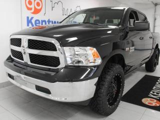 Used 2019 RAM 1500 Classic SLT Classic 5.7L Hemi 4x4 with a back up cam and jacked tires for sale in Edmonton, AB