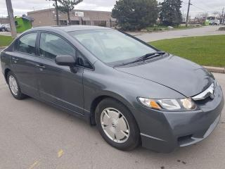 Used 2009 Honda Civic DX-G/ CERTIFIED for sale in North York, ON