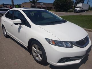 Used 2014 Honda Civic LX/ REAR & SIDE CAMERA/ CERTIFIED/ 1 YEAR WARRANTY for sale in North York, ON