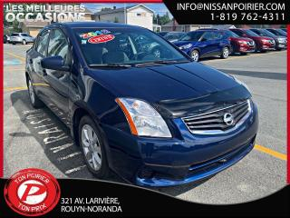Used 2012 Nissan Sentra S for sale in Rouyn-Noranda, QC