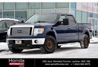 Used 2011 Ford F-150 XLT 4WD CREW CAB XTR PACK V8 4WD CREW CAB TONNEAU COVER MARCHE PIEDS ++ for sale in Lachine, QC