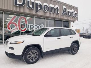 Used 2016 Jeep Cherokee 4 RM, 4 portes, Sport for sale in Alma, QC