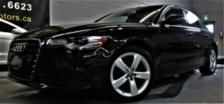 Used 2014 Audi A6 2.0T Progressiv for sale in North York, ON