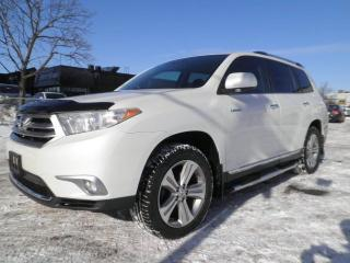 Used 2013 Toyota Highlander LIMITED  for sale in Brampton, ON