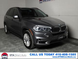 Used 2015 BMW X5 xDrive35d Lux Diesel Nav HUD Pano Prem Certified for sale in Toronto, ON