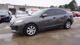 Used 2013 Mazda MAZDA3 SPORT GS 5Spd CERTIFIED 2YR WARRANTY *FREE ACCIDENT* AUX POWER OPTIONS for sale in Milton, ON