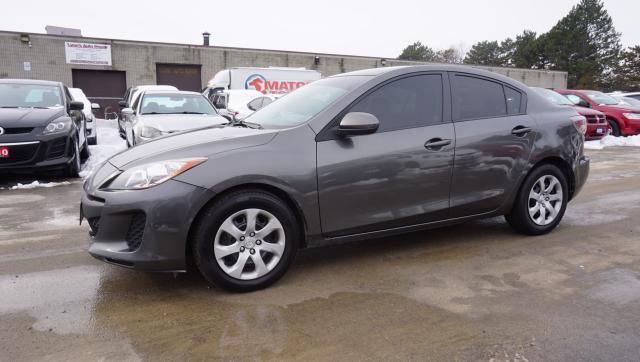 2013 Mazda MAZDA3 SPORT GS 5Spd CERTIFIED 2YR WARRANTY *FREE ACCIDENT* AUX POWER OPTIONS