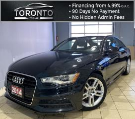 Used 2014 Audi A6 2.0T Premium Sedan quattro Tiptronic Navi Blind Spot Assist CLEAN CARFAX ONE OWNER for sale in North York, ON