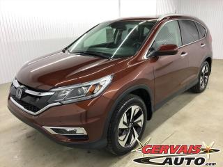 Used 2015 Honda CR-V Touring AWD GPS Cuir Toit Ouvrant MAGS Bluetooth for sale in Trois-Rivières, QC