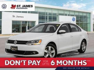 Used 2014 Volkswagen Jetta Sedan Comfortline 2.0 TDI, Heated Seats, Power Sunroof, 16 Alloy Wheels for sale in Winnipeg, MB