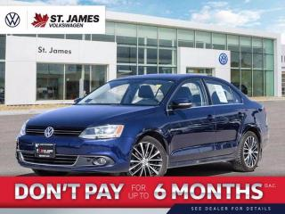 Used 2014 Volkswagen Jetta Sedan Highline 2.0TDI, Leather Seats, Power Sunroof, Navigation, Technology Package for sale in Winnipeg, MB