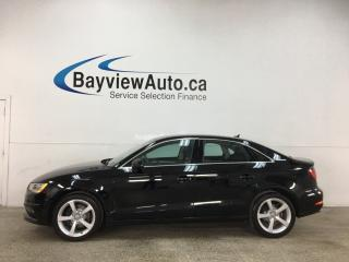 Used 2015 Audi A3 2.0 TDI Komfort - HTD LEATHER! SUNROOF! BLUETOOTH! PWR GROUP! + MORE! for sale in Belleville, ON