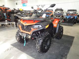 Used 2020 CFMOTO CFORCE 800 HO EPS 580cc engine (40.2 HP/36.1 lbs/ft) with counter balance shaft for sale in Saint Paul, MB