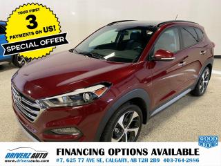 Used 2017 Hyundai Tucson SE HEATED LEATHER, SUNROOF,AND MUCH MORE.. for sale in Calgary, AB
