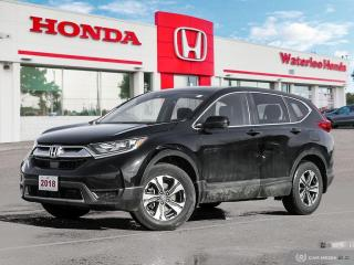 Used 2018 Honda CR-V One Owner, Accident Free CR-V LX with Honda Genuine Heated Steering Wheel! Certified Powertrain Warr for sale in Waterloo, ON
