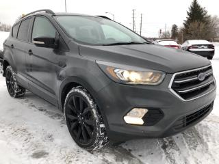 Used 2018 Ford Escape Titanium 4WD with NAV! Sunroof, Heated Steering, Heated Seats, BackupCam, AutoStart and full Pwr Equipment! N for sale in Kemptville, ON