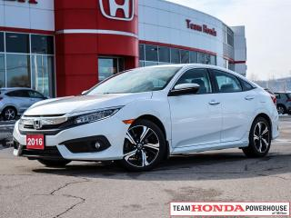 Used 2016 Honda Civic Touring for sale in Milton, ON
