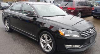 Used 2013 Volkswagen Passat 2.0L TDI SE W/SUNROO for sale in St. Catharines, ON