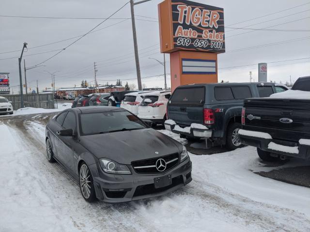 2012 Mercedes-Benz C-Class C 63 AMG*P31 PERFORMANCE PKG**COUPE**