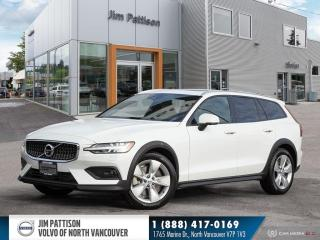 Used 2019 Volvo V60 Cross Country T5 AWD - EXECUTIVE DEMO - HUGE SAVINGS - 0.9% OAC for sale in North Vancouver, BC