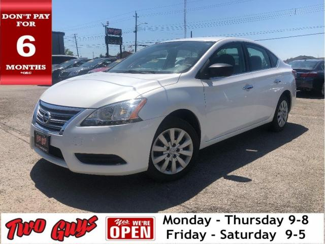 2015 Nissan Sentra 1.8 S |  Auto | Cruise | Bluetooth | Power Group