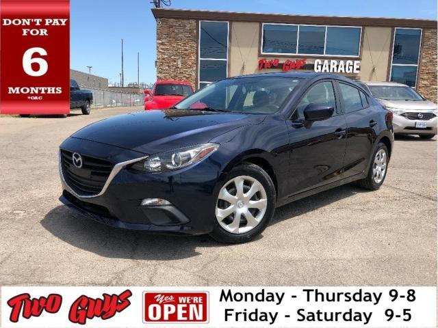 2015 Mazda MAZDA3 GX | New Tires | Auto | A/C | Bluetooth