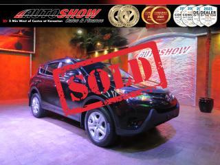 Used 2014 Toyota RAV4 LE 4x4 - Gorgeous Black on Black! for sale in Winnipeg, MB
