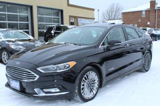 Used 2017 Ford Fusion Titanium Hybrid for sale in Brampton, ON