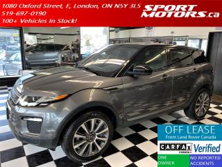 Used 2016 Land Rover Range Rover Evoque SE AWD+GPS+Camera+Pano Roof+Xenons+Accident Free for sale in London, ON