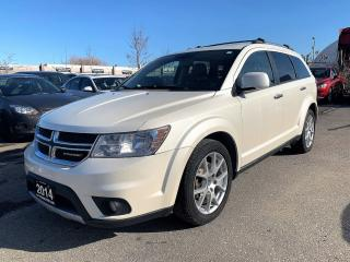 Used 2014 Dodge Journey R/T NAV/REAR CAM/DVD for sale in Brampton, ON