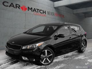 Used 2018 Kia Forte 5 EX LUXURY / LEATHER / NO ACCIDENTS for sale in Cambridge, ON