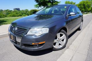 Used 2009 Volkswagen Passat 6SPD MANUAL / 1 OWNER /NO ACCIDENTS /SERVICED WELL for sale in Etobicoke, ON