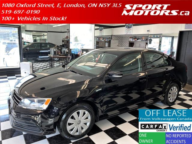 2016 Volkswagen Jetta Trendline+Camera+Bluetooth+HTD Seats+Accident Free