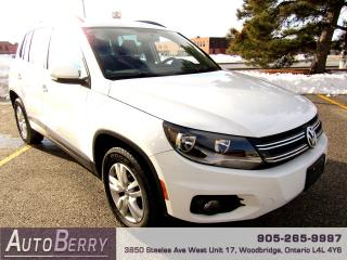 Used 2014 Volkswagen Tiguan 2.0L - 4MOTION - AWD for sale in Woodbridge, ON