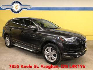 Used 2013 Audi Q7 3.0L 7 Pass, Navi, Fully Loaded for sale in Vaughan, ON