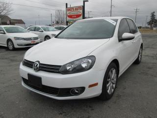 Used 2013 Volkswagen Golf 2.0L 4-Door TDI for sale in Alvinston, ON