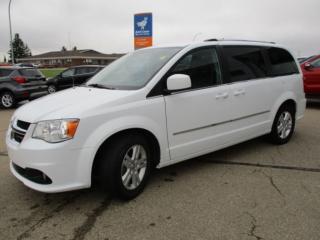Used 2016 Dodge Grand Caravan Crew Plus for sale in Wetaskiwin, AB