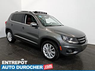 Used 2016 Volkswagen Tiguan AWD Highline NAVIGATION - Toit Ouvrant - A/C -Cuir for sale in Laval, QC