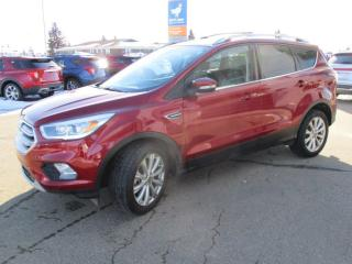 Used 2017 Ford Escape 4WD 4dr Titanium, Certified 1.9% Financing for sale in Wetaskiwin, AB