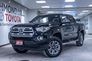 Used 2019 Toyota Tacoma Limited - Double CAB for sale in Richmond Hill, ON