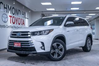 Used 2017 Toyota Highlander Hybrid Limited for sale in Richmond Hill, ON