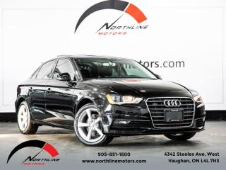 Used 2016 Audi A3 2.0T Quattro AWD|Komfort|Heated Leather|Sunroof|Climate Ctrl for sale in Vaughan, ON