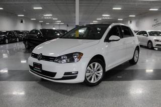 Used 2015 Volkswagen Golf BIG SCREEN I LEATHER I SUNROOF I REAR CAM I HEATED SEATS for sale in Mississauga, ON